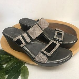NAOT Slide Sandal Wedges NWOT